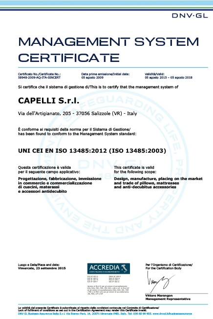 Management System Certificate 2012