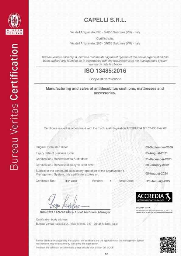 ISO 13485:2016 - EN