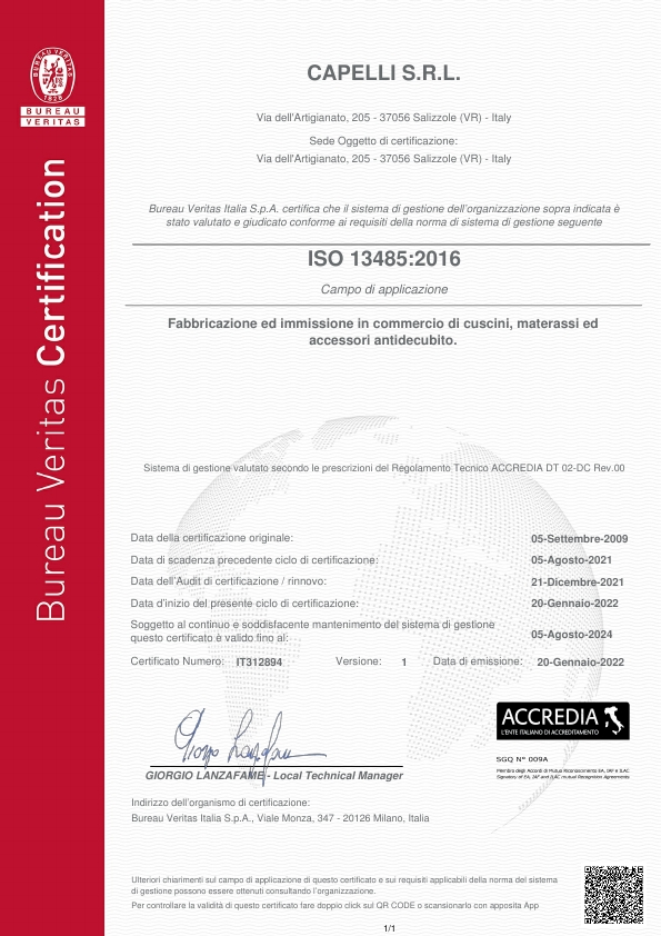 ISO 13485:2016 - IT